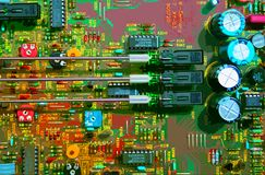 Circuit Board. Computer special effect stock illustration