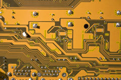 Circuit board. Macro image of circuit board Royalty Free Stock Photography