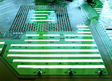 Circuit board. Close up of circuit board Stock Image