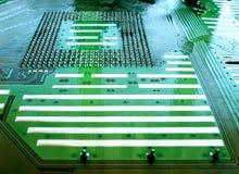 Circuit board. Close up of circuit board stock image