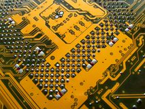 Circuit board. Close up of circuit board Royalty Free Stock Photos