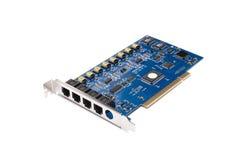 Circuit board. Macro image of circuit board Royalty Free Stock Image