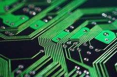 Circuit board. Electronic device circuit board Stock Photo