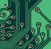 Circuit Board. Closeup of a circuit board Royalty Free Stock Photos