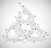 Circuit board abstract background Stock Images