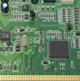 Circuit board. Abstract,background,board,card,channel,chip  ,circuit Stock Photography