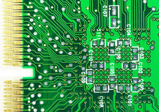 Circuit board. Abstract,background,board,card,channel,chip,circuit,circuitry,close,closeup Royalty Free Stock Photography