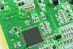 Circuit board. Abstract,background,board,card,channel,chip,circuit,circuitry,close,closeup Royalty Free Stock Image