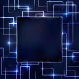 Circuit Board abstract background Royalty Free Stock Photos