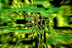 Circuit board abstract 3 Stock Image