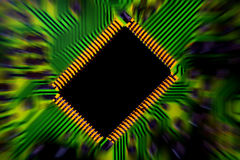 Circuit board abstract 2 Royalty Free Stock Photos