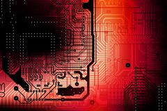Circuit Board Backdrop Stock Images