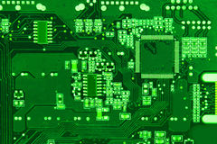 Circuit board background Stock Images
