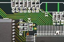 Circuit board background Stock Photos