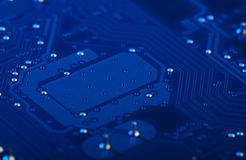 Circuit Board Background. Technology, Computer Stock Photo