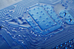 Circuit Board Background. Technology, Computer Stock Photography
