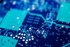 Circuit Board Background. Royalty Free Stock Image