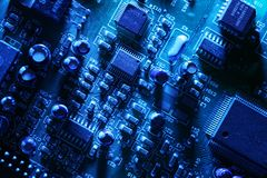 Circuit board background Royalty Free Stock Image