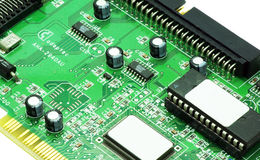 Circuit board background. Abstract,background,board,card,channel,chip,circuit,circuitry,close,closeup Royalty Free Stock Image