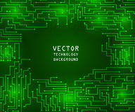 Circuit board background. Circuit board abstract background. Technology, computer. Vector illustration Royalty Free Stock Images
