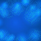 Circuit board background. Circuit board abstract background. Technology, computer. Vector illustration Stock Photography