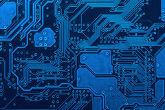 circuit board background beautiful blue circuit board background stock image