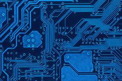 circuit board background beautiful blue circuit board background royalty free stock photos