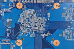 Circuit board background Royalty Free Stock Images