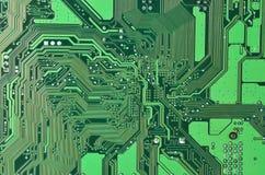 Circuit board background stock photo