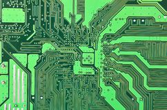 Circuit board background Stock Image