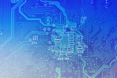 Circuit board background Royalty Free Stock Photo