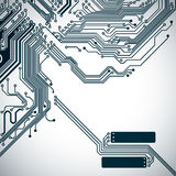 Circuit board background with a electronic pattern Stock Photo