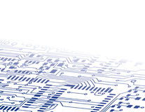 Circuit Board Background Fade Royalty Free Stock Image