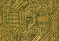 Circuit board background in hi-tech style. Green Circuit board background in hi-tech style Stock Images