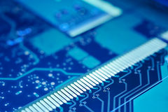 Circuit board background. Royalty Free Stock Photography