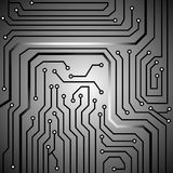 Circuit board background texture Stock Image