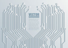 Circuit board background texture. Stock Photo