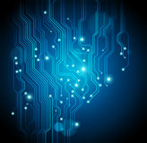 Circuit board background -  vector is available Royalty Free Stock Photography
