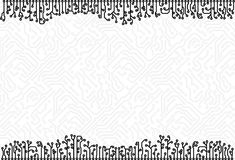 Circuit board background vector eps8 Royalty Free Stock Images