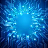 Illustration of Circuit Board Royalty Free Stock Photography