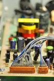 Circuit board cable B Royalty Free Stock Photography