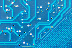 Circuit board close Royalty Free Stock Images