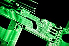 Circuit board close-up Royalty Free Stock Photography