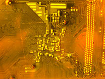 Circuit board close up Royalty Free Stock Photography