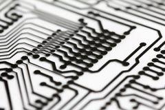Circuit board close up. Royalty Free Stock Image