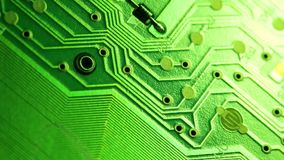 Circuitboard stock video footage
