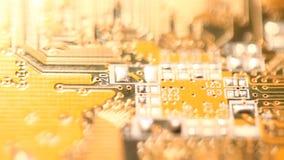 Circuitboard stock footage