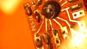 Circuitboard stock video