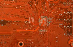 Circuit board, close up Stock Images