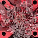Circuit board close-up Stock Image